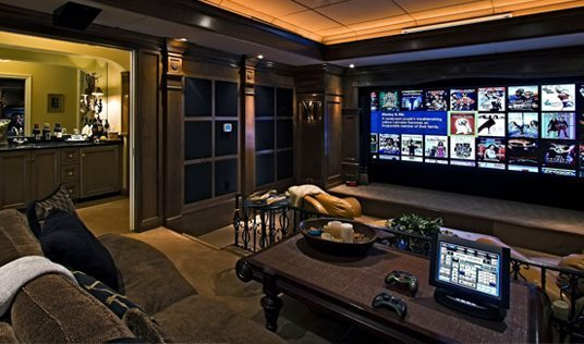 Customized Home Theaters